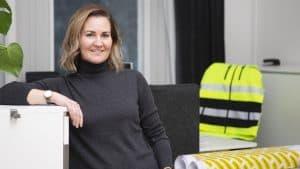 Sofia Steging, projektledare för Skidskytten